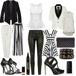 black-and-white-ASOS-outfit