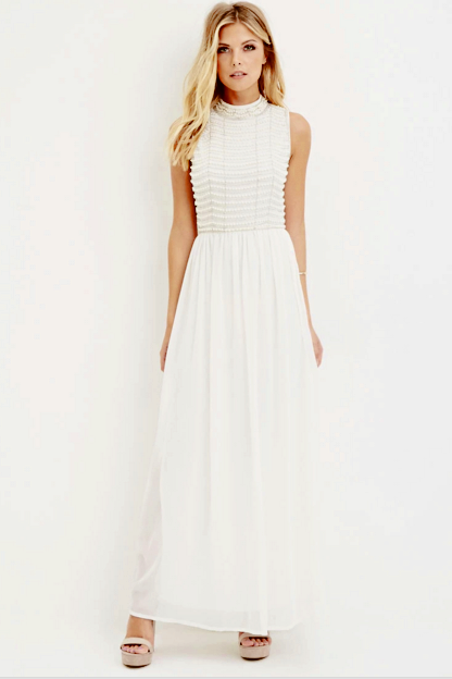 Forever21-Chiffon Maxi Dress