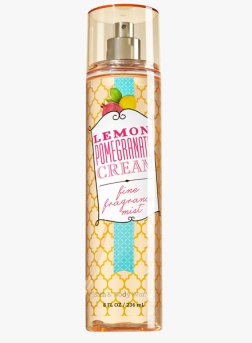 10. Bath & Body Works Lemon Pomegranate Cream Fragrance Mist