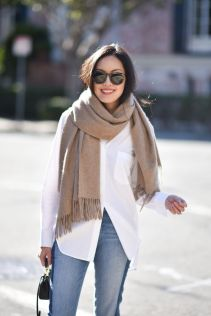 over-sized-white-shirt-scarf