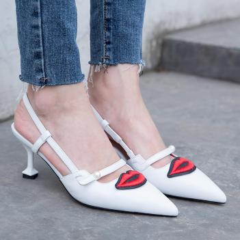 White heels for women