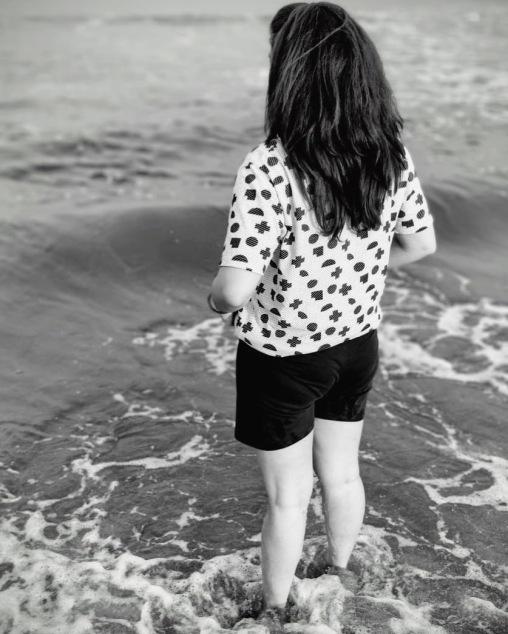 Picture taken at Serenity Beach, Puducherry